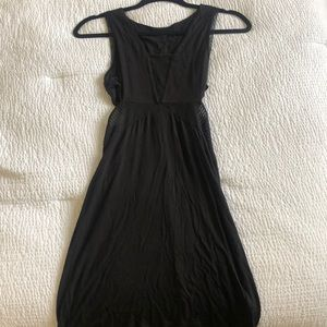 Urban Outfitters Black Cut Out Dress XS
